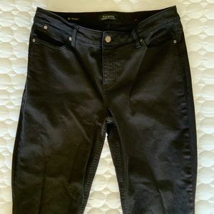 Talbots 10 Ankle Flawless Black Jeans